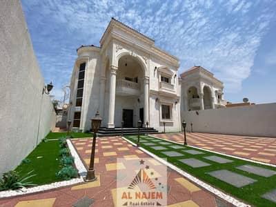 6 Bedroom Villa for Sale in Al Rawda, Ajman - Luxurious Villa Classic Design in Perfect location . New villa with an area of 5000 in Ajman Al Rawda 2 for sale
