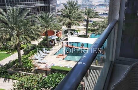 شقة 1 غرفة نوم للايجار في وسط مدينة دبي، دبي - Fully Furnished Unit | Pool View | Great Location