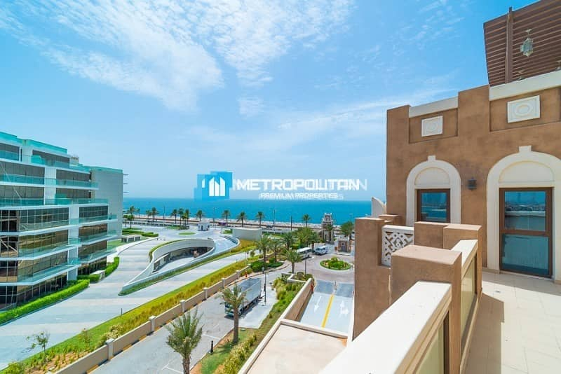 20 Full Sea view | 3BR Penthouse | Available in Palm