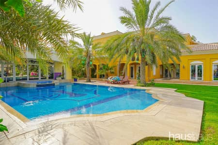 7 Bedroom Villa for Sale in Arabian Ranches, Dubai - Luxurious Golf Home | 7 Beds | 21k Plot