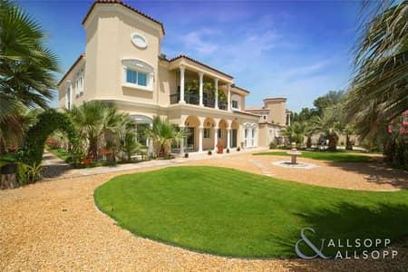 فیلا 6 غرف نوم للبيع في جرين كوميونيتي، دبي - Luxury Villa | Backs Main Park | Huge Plot