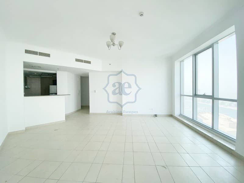2 High Floor|Unfurnished 2-Beds|w/ Partial Sea View