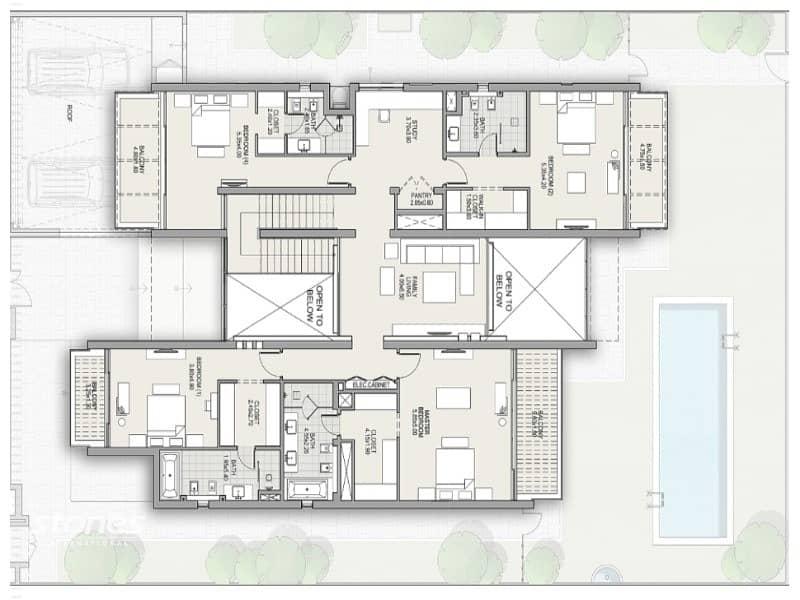 14 Bright and Spacious Contemporary Style Villa