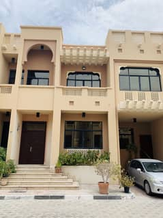 A Beautiful 4 Bedrooms Villa, with sharing Gym & Swimming Pool in Compound