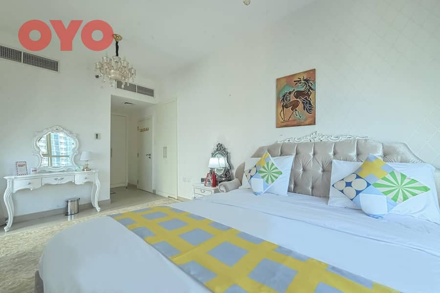 2 999 Monthly 3 BHK | Furnished | Free DEWA/Wifi | No Comm.