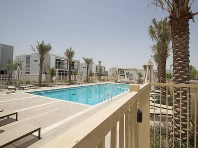 تاون هاوس 4 غرف نوم للبيع في مدن، دبي - Semi Detached 4 bed|Partial Pool view| Arabella 2