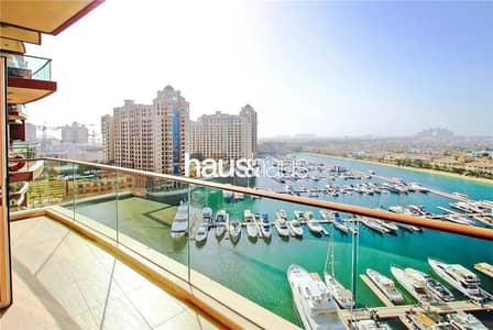 شقة 2 غرفة نوم للبيع في نخلة جميرا، دبي - High floor   Full sea and Atlantis views   Rented
