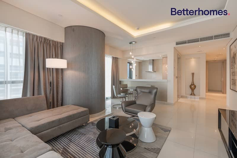 Fully Furnished 2BR | On High Floor