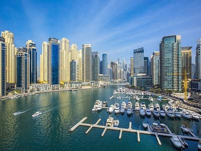 3 Bedroom Flat for Rent in Dubai Marina, Dubai - Full Marina View   Biggest Unit In Marina