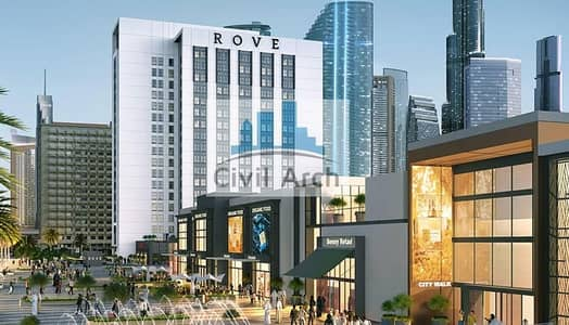 Studio for Sale in Jumeirah, Dubai - 8% ROI @ rove hotel investment+50% dis booling for life
