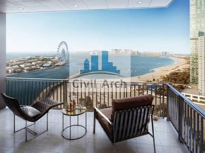 3 Bedroom Flat for Sale in Dubai Marina, Dubai - MOST UNIQUE 3BR of MARINA+3 YEARS PAYMENT PLAN