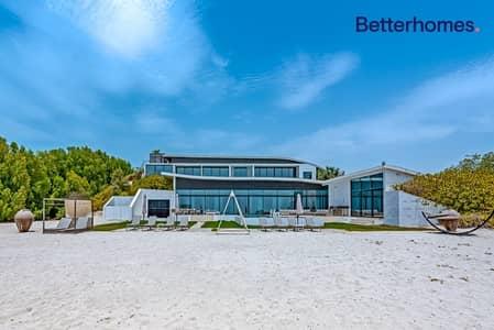 6 Bedroom Villa for Sale in Nurai Island, Abu Dhabi - State of Luxury  I 6BR I Private Beach Villa
