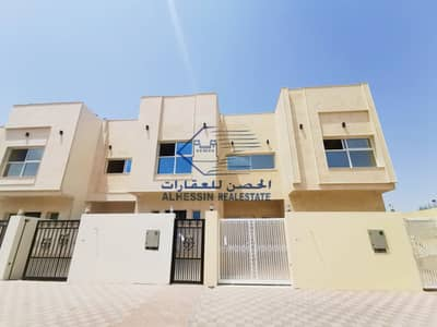 5 Bedroom Villa for Sale in Al Yasmeen, Ajman - brand new Villa with out registration fees freehold for all nationalities in excellent price on the main road.