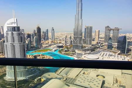 4 Bedroom Flat for Sale in Downtown Dubai, Dubai - Stunning View | Brand New Fully Furnished 4 BR Apt