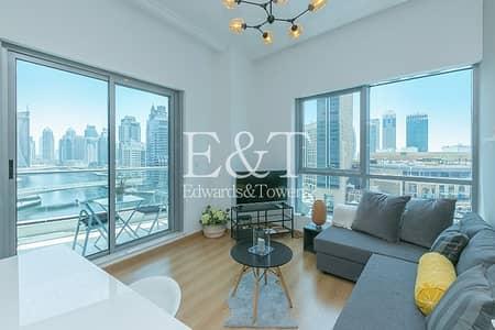 1 Bedroom Flat for Rent in Dubai Marina, Dubai - Beautiful Fully Upgraded |Corner Unit | Full Marina View
