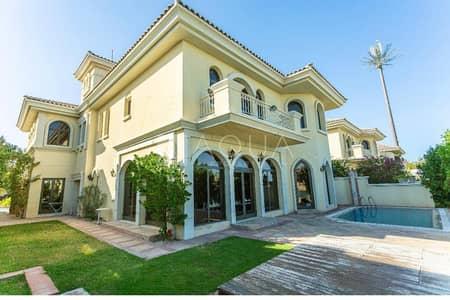 5 Bedroom Villa for Sale in Palm Jumeirah, Dubai - Tip Villa | G+2 | Extra BUA | Skyline View