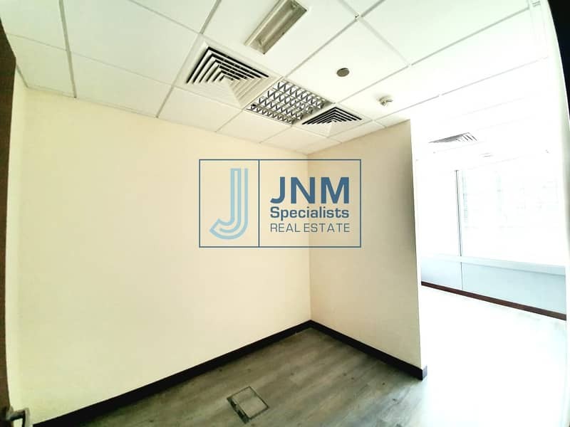 2 Fitted Office with Room Partitions | Low Floor
