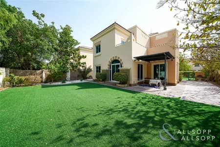 4 Bedroom Villa for Sale in Dubai Sports City, Dubai - Backing Park | 4 Bed C3 | Vacant On Transfer
