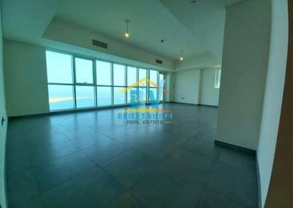 فلیٹ 3 غرف نوم للايجار في منطقة الكورنيش، أبوظبي - Fantastic Brand new full sea view 3bhk in corniche