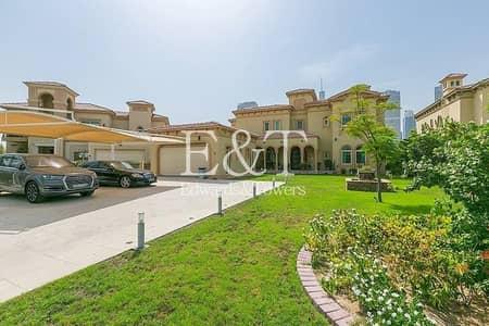5 Bedroom Villa for Sale in Jumeirah Islands, Dubai - Vaastu Compliant | European MV Central Lake | JI