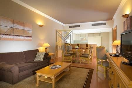 شقة فندقية 2 غرفة نوم للايجار في شارع الشيخ زايد، دبي - 5 Star Hotel