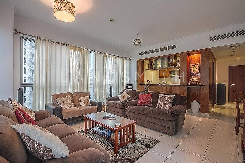 12 Fully Furnished Vacant 1BR Apt in The Residences 8