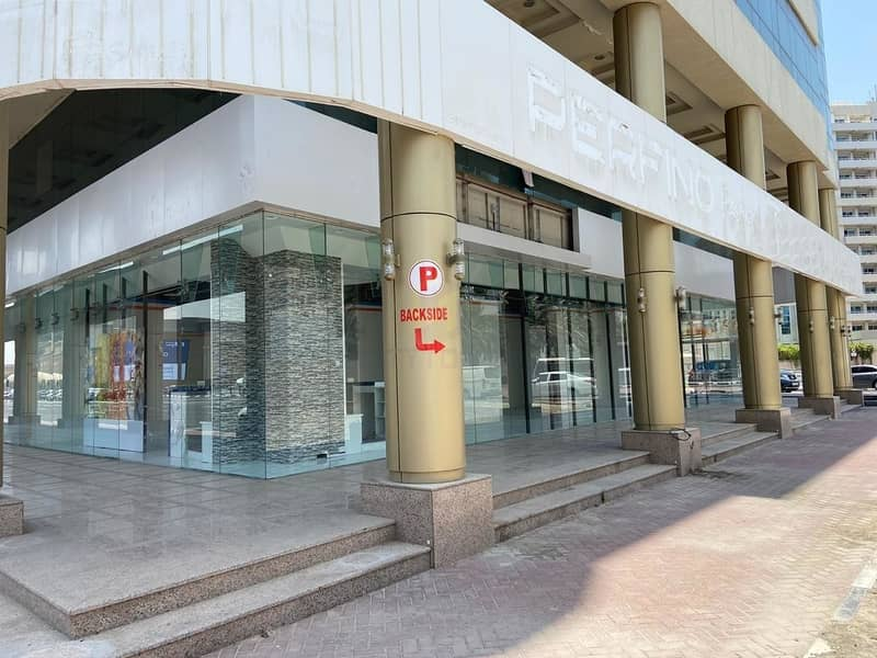 2 GROUND FLOOR Showroom near Deira City Center