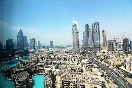 3 Bedroom Flat for Sale in Downtown Dubai, Dubai - Dubai Fountain Views 3BR+Maid's Apt in Downtown