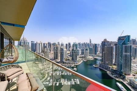 شقة 2 غرفة نوم للبيع في دبي مارينا، دبي - Motivated Seller|Full Marina View|Best type 2 bed