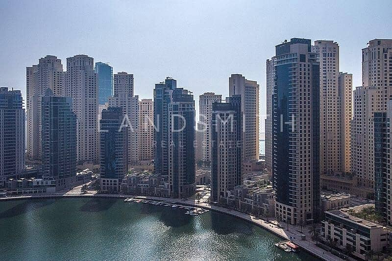 16 Marina and Sea view 3BR+Study Apt in Al Majara 1