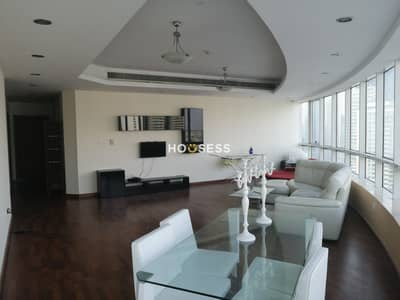 4 Bedroom Apartment for Sale in Dubai Marina, Dubai - Spacious 4 BR | Sheikh Zayed View | High Floor