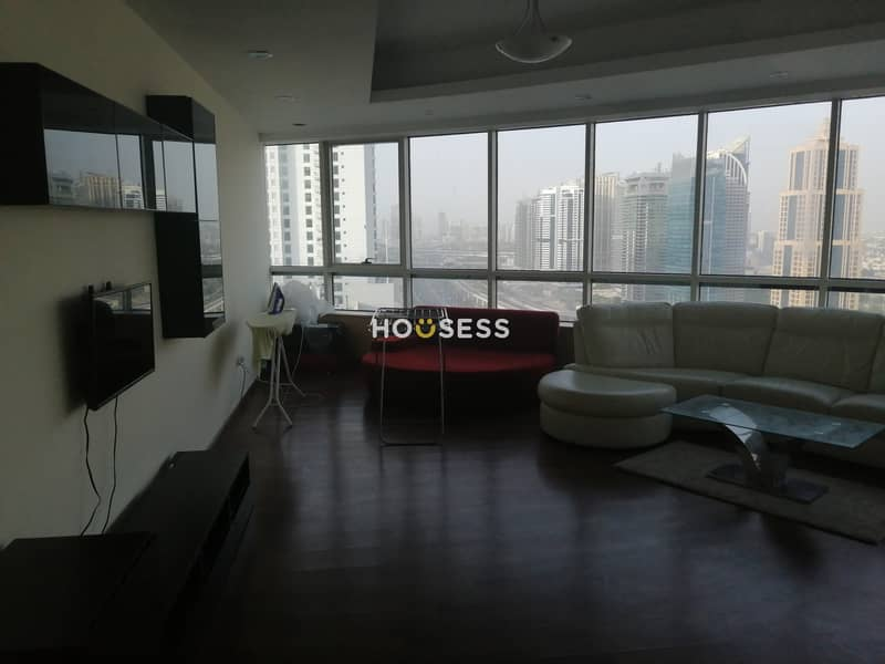 2 Spacious 4 BR | Sheikh Zayed View | High Floor
