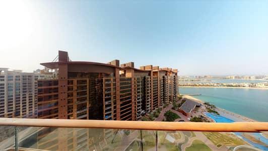شقة 4 غرف نوم للايجار في نخلة جميرا، دبي - Spacious terrace   Sea view   Contactless tours