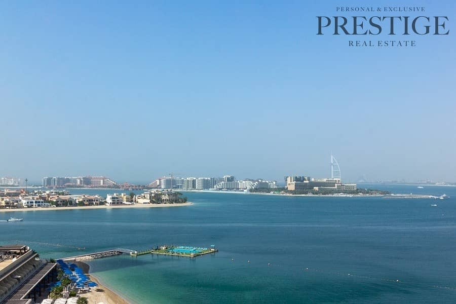 2 2 Bed + Maids | Unfurnished | Sea View