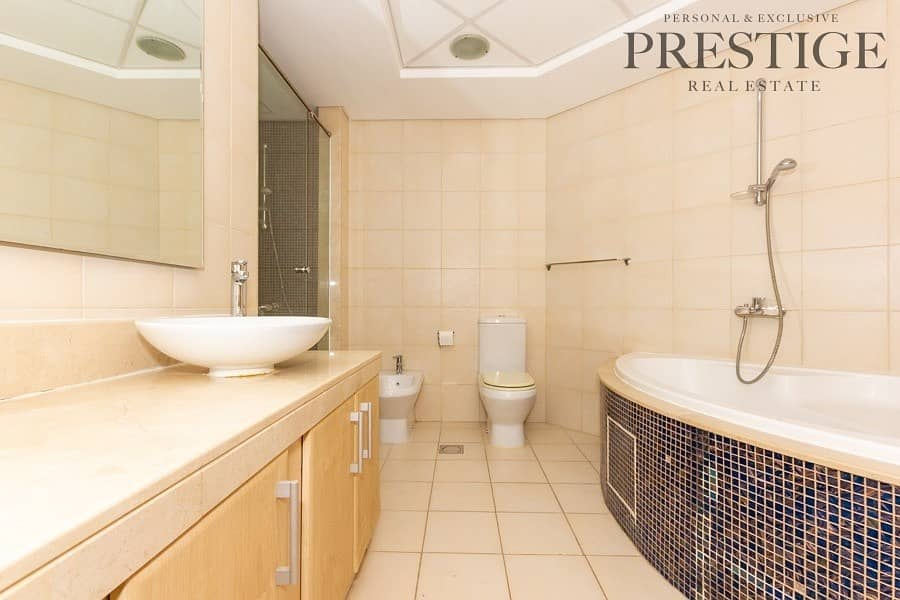 12 2 Bed + Maids | Unfurnished | Sea View