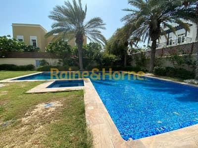 6 Bedroom Villa for Sale in Emirates Hills, Dubai - Luxurious Mansion Facing Lake   Big Plot Area