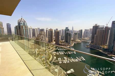 4 Bedroom Flat for Sale in Dubai Marina, Dubai - 4 Bed + Maid | Full Marina View | Vacant