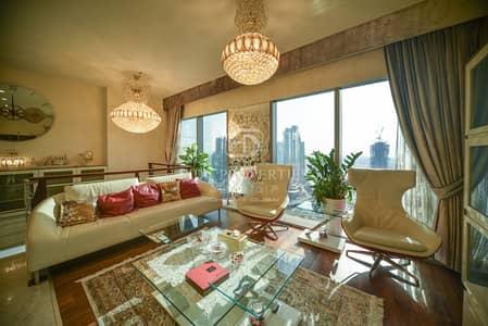 شقة 3 غرف نوم للبيع في مركز دبي المالي العالمي، دبي - Exclusive | Fully Upgraded | Duplex | Premium