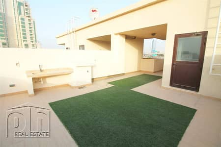 4 Bedroom Townhouse for Rent in Jumeirah Village Circle (JVC), Dubai - Rooftop Terrace   Multiple Cheques   Available