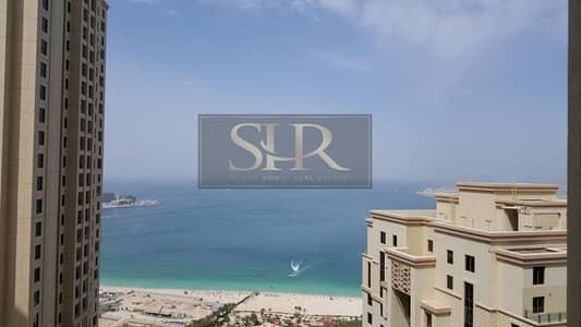 2 Bedroom Flat for Rent in Jumeirah Beach Residence (JBR), Dubai - Stunning Sea View - 2 Bedroom - in Murjan 80K