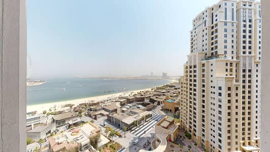 2 Bedroom Apartment for Rent in Jumeirah Beach Residence (JBR), Dubai - Sea views | Kitchen appliances | Rent online