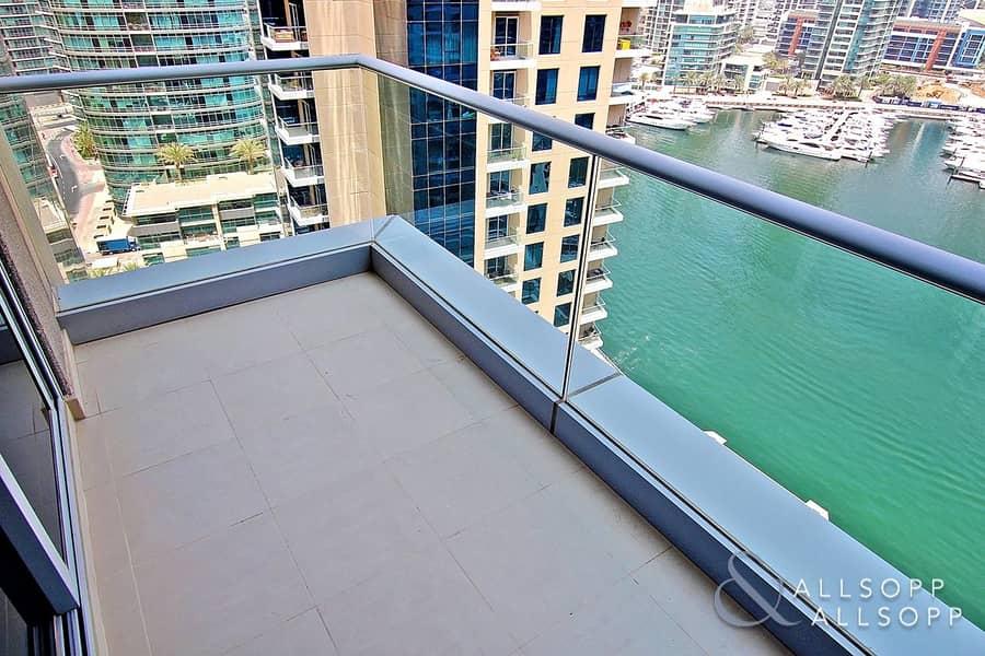 2 Marina Views | Unfurnished | Best Layout<BR/>