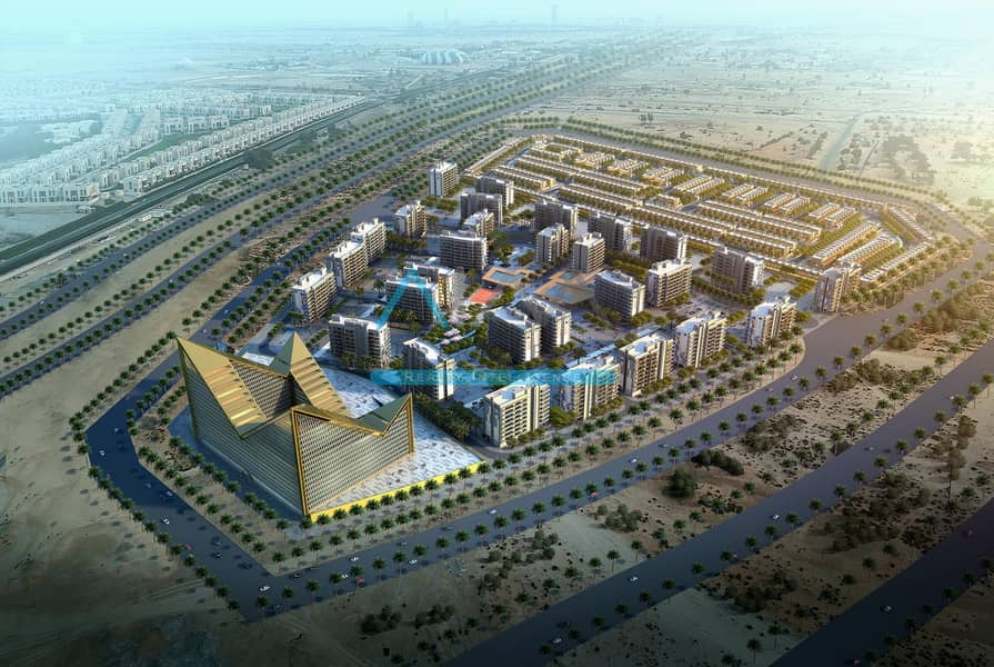 10 Meydan City    3 Bed Room Town House - Booking By Paying 10% - Handover Q4 2021