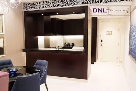 فلیٹ 1 غرفة نوم للايجار في وسط مدينة دبي، دبي - Stunning View | Heart of Downtown | Fully Furnished