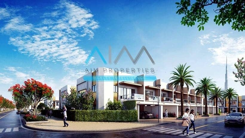 2 Meydan City    3 Bed Room Town House - Booking By Paying 10% - Handover Q4 2021