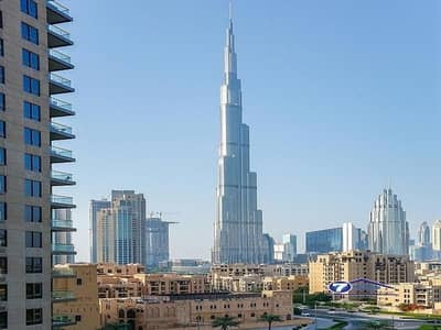 1 Bedroom Flat for Sale in Downtown Dubai, Dubai - Burj Khalifa view | Vacant | Very Large Apt