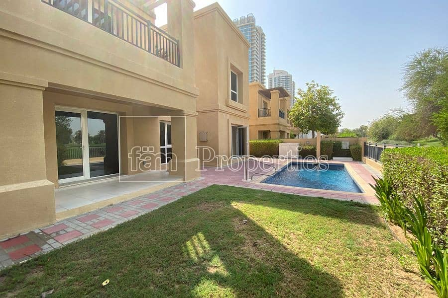 4 Bed Golf villa/Pool/Free Golf/Vacant
