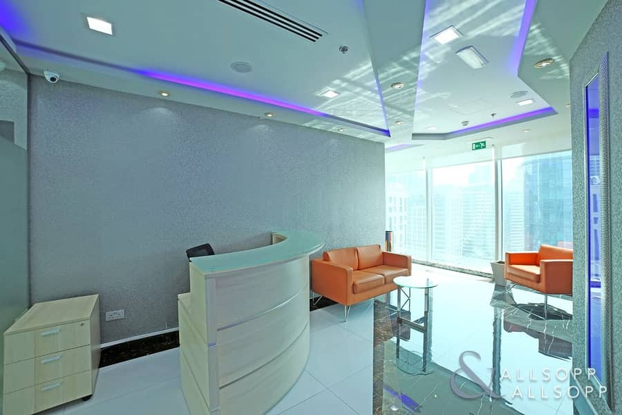 2 Furnished Office |2 Parking Spaces| HIGH ROI