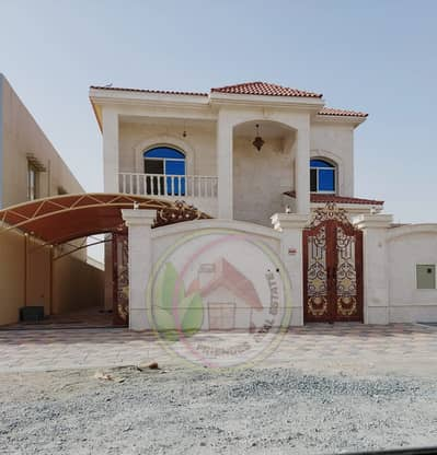 6 Bedroom Villa for Sale in Al Rawda, Ajman - For sale plush modern villas central air conditioning in Ajman very excellent finishing on monthly installments for 25 years with presence