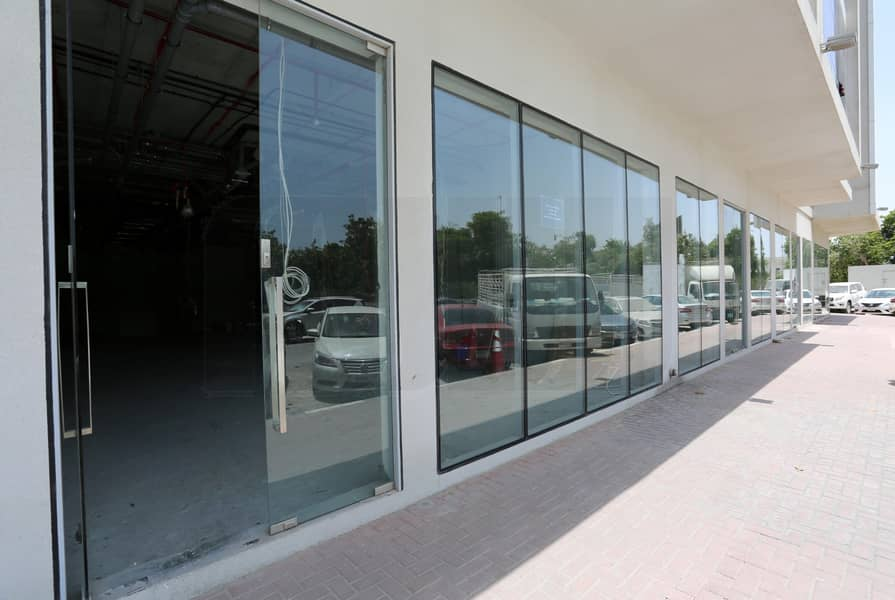 14 Generously sized | Road Facing | Retail @ 85 Dhs PSF